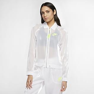 Nike Air Chamarra de entrenador para mujer