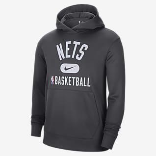 Brooklyn Nets Spotlight Men's Nike Dri-FIT NBA Pullover Hoodie