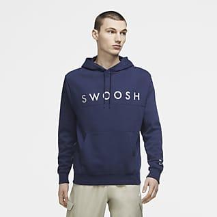 Nike Sportswear Swoosh Huvtröja för män