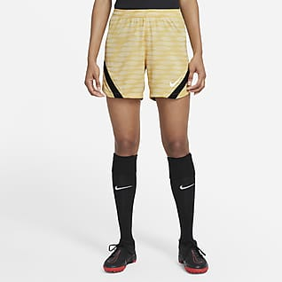 Nike Dri-FIT Strike Fodboldshorts i maskinstrik til kvinder