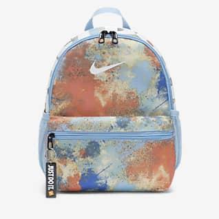 Nike Brasilia JDI Детский рюкзак с принтом тай-дай (мини)