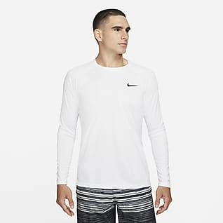 Nike Essential Men's Long-Sleeve Hydroguard Swim Shirt