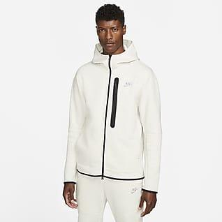 Nike Sportswear Tech Fleece Hoodie com fecho completo para homem