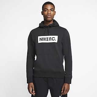 Nike F.C. Sudadera con capucha de tejido Fleece de fútbol - Hombre