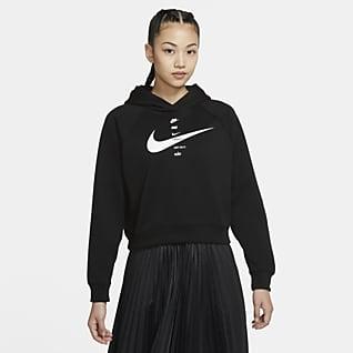 Nike Sportswear Swoosh Hættetrøje til kvinder
