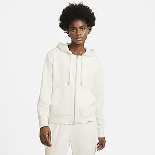 Nike Swoosh Fly Standard Issue Women's Full-Zip Basketball Hoodie