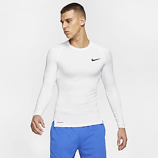Nike Pro Men's Tight Fit Long-Sleeve Top
