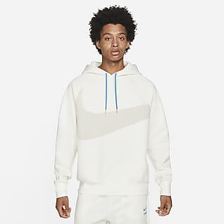 Nike Sportswear Swoosh Tech Fleece Felpa pullover con cappuccio - Uomo