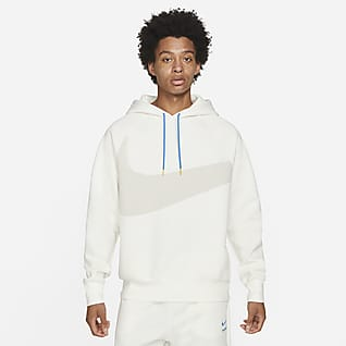 Nike Sportswear Swoosh Tech Fleece Huvtröja för män