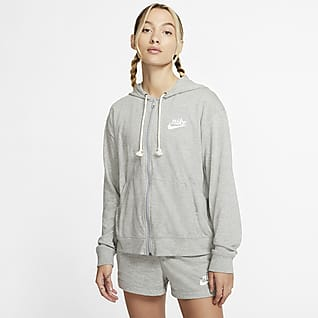 Nike Sportswear 女款全長式拉鍊連帽上衣
