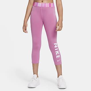 Nike One Leggings capri para niña talla grande