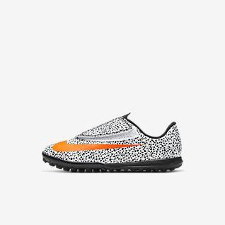 Nike Jr. Mercurial Vapor 13 Club CR7 Safari TF Chaussure de football pour surface synthétique pour Bébé/Jeune enfant