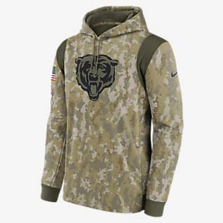 Nike Therma Salute to Service (NFL Chicago Bears) Men's Hoodie
