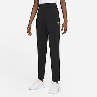 NikeCourt Dri-FIT Pantalones tejidos de tenis para mujer