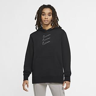 Nike Sportswear Rhinestone-hættetrøje til kvinder