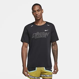 Nike Rise 365 Wild Run Men's Short-Sleeve Running Top
