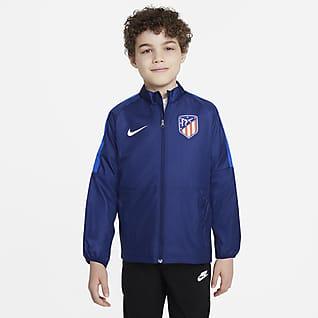 Atlético Madrid Repel Academy AWF Chamarra de fútbol para niños talla grande