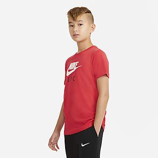 Liverpool FC Tee-shirt de football pour Enfant plus âgé