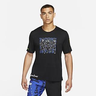Nike Dri-FIT Miler Hackney Haut de running pour Homme