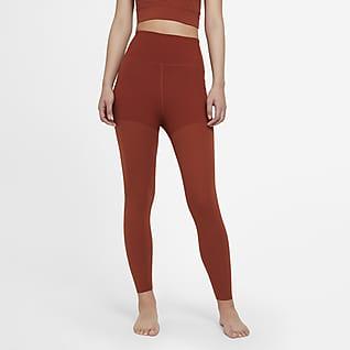 Nike Yoga Luxe Layered เลกกิ้งผู้หญิง 7/8 ส่วน