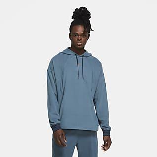 Nike Sudadera de entrenamiento con capucha sin cierre de tejido Fleece para hombre
