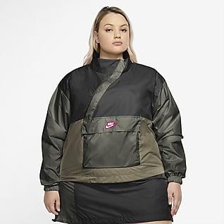 Nike Sportswear Icon Clash Women's Woven Anorak (Plus Size)