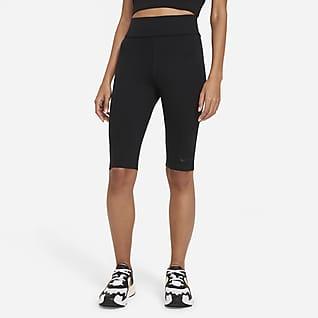 Nike Sportswear Essential Knielange Leggings mit hohem Taillenbund für Damen
