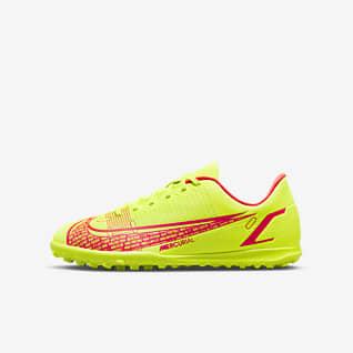 Nike Jr. Mercurial Vapor 14 Club TF Футбольные бутсы для игры на синтетическом покрытии для дошкольников/школьников