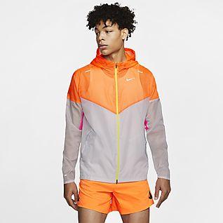 Nike windproof running jacket