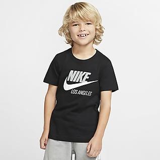 Nike Sportswear Los Angeles Playera de manga corta para niños talla pequeña