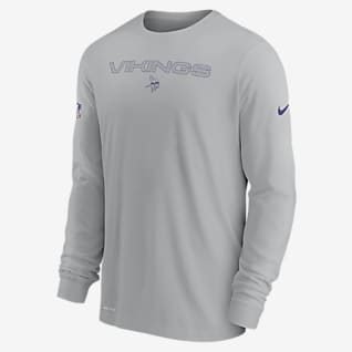 Nike Dri-FIT Sideline Team Issue (NFL Minnesota Vikings) Men's Long-Sleeve T-Shirt