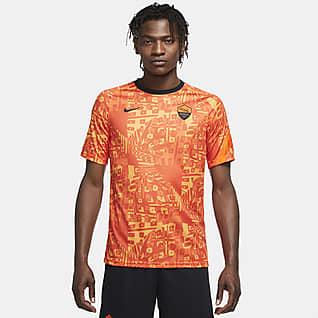 AS Roma Men's Pre-Match Short-Sleeve Football Top