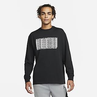 Jordan 23 Engineered Uzun Kollu Erkek Tişörtü