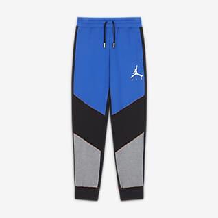 Jordan Pantalón con estilo Color Block - Niño