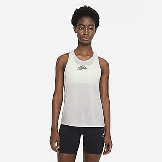 Nike City Sleek Camisetas de tirantes de trail running - Mujer