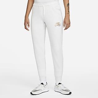 Nike Sportswear Club Fleece Women's Tight Fit Glitter Pants