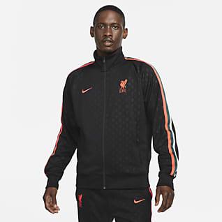 Liverpool FC N98 Maskinstrikket jakke til mænd