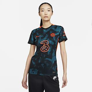 Tercera equipación Stadium Chelsea FC 2021/22 Camiseta de fútbol Nike Dri-FIT - Mujer
