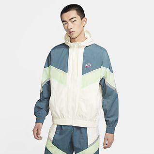 Nike Sportswear Windrunner+ เสื้อแจ็คเก็ตมีฮู้ดผู้ชาย
