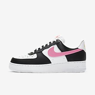 air force 1 rosa y blanco