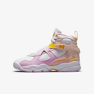 Air Jordan 8 Retro Big Kids' Shoes