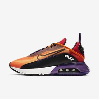 nike chaussures orange