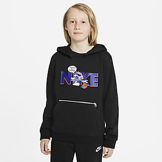 Nike Dri-FIT x Space Jam: A New Legacy Genç Çocuk Kapüşonlu Üst