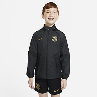 F.C. Barcelona Older Kids' Football Jacket