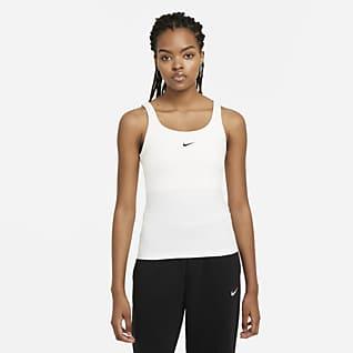 Nike Sportswear Essential Cami Camiseta de tirantes - Mujer