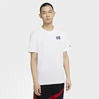 "Nike Dri-FIT LeBron ""Strive For Greatness"" 男子篮球T恤"