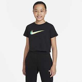 Nike Sportswear Tee-shirt de danse court pour Fille plus âgée