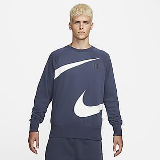 Nike Sportswear Swoosh Fleecetop met ronde hals voor heren