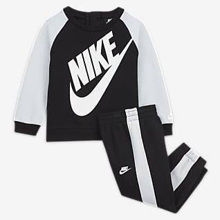 Nike Kerek naykkivágású pulóver és nadrág szett babáknak (12–24 hónapos)