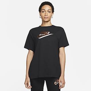 Nike Sportswear Essentials Top stampato a manica corta - Donna